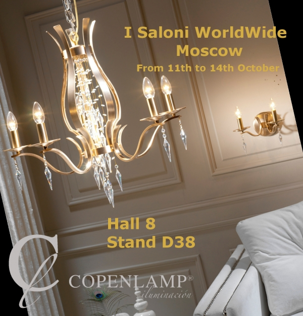 COPENLAMP is attending I Saloni WorldWide Moscow