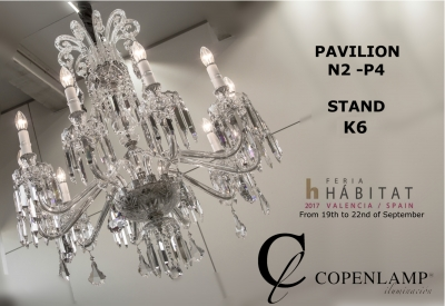 Copenlamp is attending HABITAT fair 2017 in Valencia.
