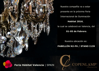 Copenlamp will be at HABITAT Valencia 2016