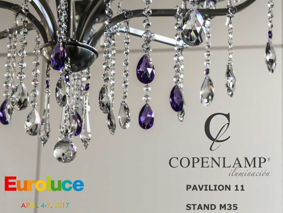 Copenlamp is going to attend EUROLUCE fair in Milan.